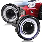 2003 - 2005 Dodge Neon Angel Eyes Halo Projector Fog Lights