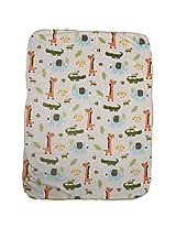 """Baby Bucket Carter Baby Blanket Jungle Animal 30"""" x 40"""""""