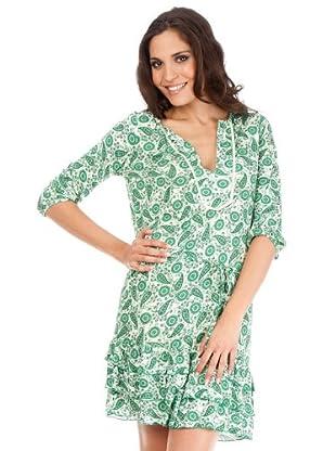 Cortefiel Vestido (Verde)