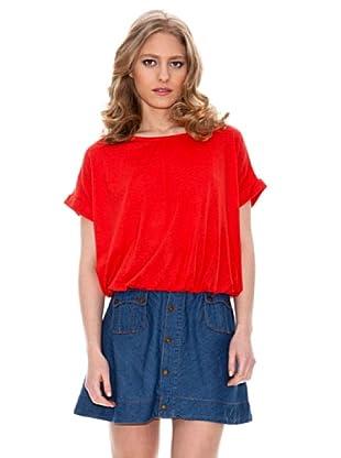 Springfield Camiseta Lazo Espalda (Rojo)