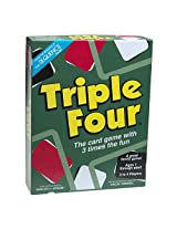 Triple Four Card Game