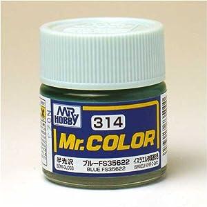 【クリックで詳細表示】Amazon.co.jp | Mr.カラー C314 ブルー FS35622 | ホビー 通販