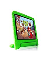 Fintie Kiddie Case Light Weight Shock Proof Convertible Handle Stand Cover for iPad Air 2, Green (EPF0010AD-US)