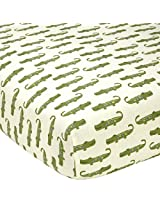 Alligator Blues Fitted Sheet by Nojo - same as in set