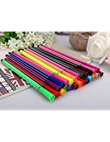 Pigloo Color Pens with Washable Inks, 24 Pens, 1 Set Assorted Colors