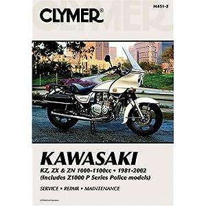 【クリックで詳細表示】Kawasaki KZ, ZX & ZN 1000-1100cc 81-02 (Clymer Motorcycle Repair): Penton Staff: 洋書