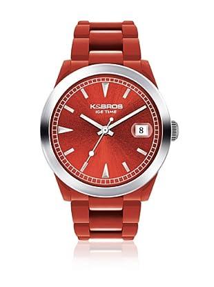 K&BROS Reloj 9541 (Rojo)