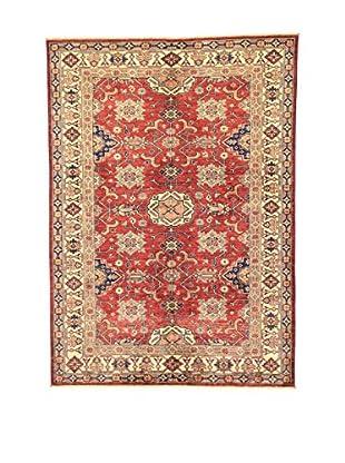 L'Eden del Tappeto Teppich Kazak Super rot/beige/blau 200t x t142 cm