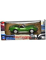Newray 1969 Chevrolet Corvette Scale-1:43 Die Cast Toy Car (Green)