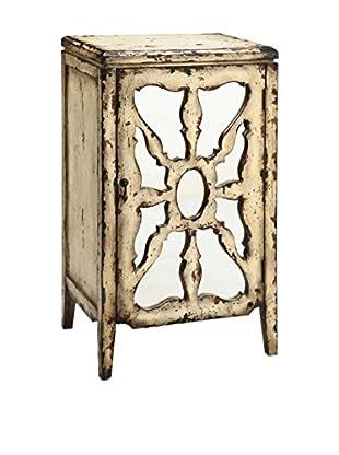 Luxury Home Antiqued Mirror Chest, Multi