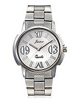 Jainx BREO Analog Silver Dial Men's Watch-JM133