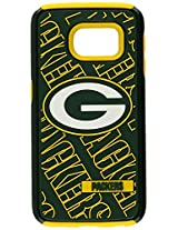 Forever Collectibles - Licensed NFL Cell Phone Case for Samsung Galaxy S6 Edge - Retail Packaging - Green Bay Packers