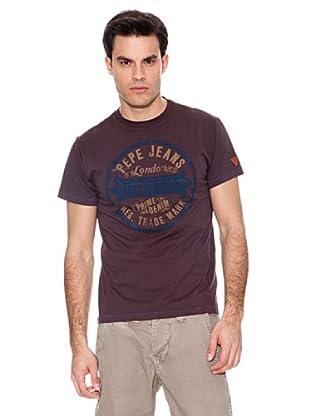 Pepe Jeans London Camiseta Hamsey (Gris Oscuro)