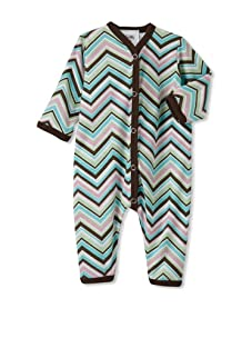 Mad Sky Girl's Romper with Hat Set (Zig Zag)