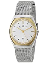 Skagen End-of-Season Analog White Dial Women's Watch - SKW2050