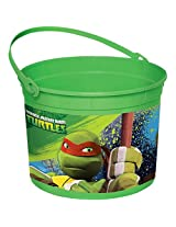 Ninja Turtles Favor Container (Each) Party Supplies