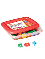 Educational Insights AlphaMagnets - Multicolored Lowercase (Set of 42)