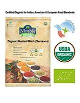 Nimble Organics Mustard Black (Sarasoon) 200g