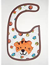 Carter's Orange Cat Baby Bib (Unisex)
