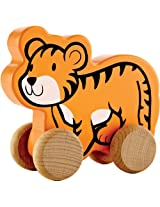 Hape Eco Baby Tiger Push-Pull Toy