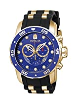 Invicta Pro-Diver Analog Blue Dial Men's Watch - 6983