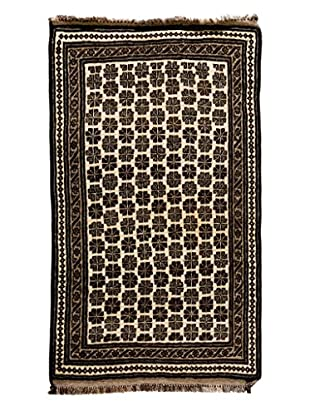Darya Rugs One-of-a-Kind Tribal Rug, Ivory, 4' x 6' 10