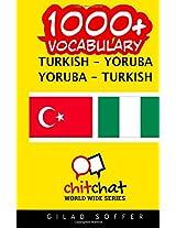 1000+ Turkish - Yoruba Yoruba - Turkish Vocabulary