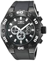 Invicta Specialty Multi-Function Analog Black Dial Men's Watch - 21459