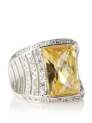 CZ By Kenneth Jay Lane Emerald-Cut Ring
