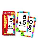 Trend Enterprises Inc. Pocket Flash Cards Addition 56 Pk (Set Of 24)