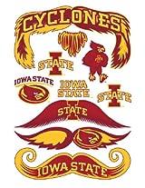 StacheTATS Iowa St. Temporary Mustache Tattoos