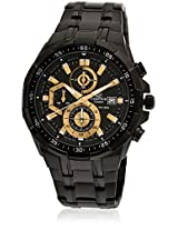 Efr-539Bk-1Avudf-Ex187 Black Chronograph Watches