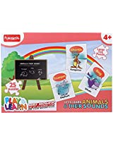 Funskool Play And Learn Puzzle - Learn Animal And Their Sounds