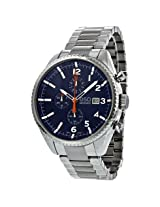 Esq By Movado Catalyst Chronograph Blue Dial Stainless Steel Men'S Watch - Esq-07301429