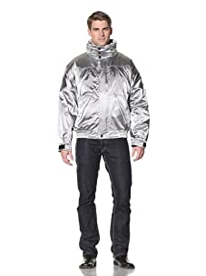 Wellensteyn Men's Starlite Bomber Jacket (Silver Chrome)