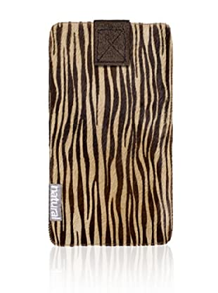 Natural iPhone Cowhide Case (Zebrina)