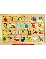 Little Genius Alphabets Sequence Puzzle, Multi Color
