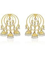 Traditional Jhumki Earring Pearl Brass Jhumki Earring
