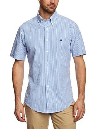 Brooks Brothers Camisa Serena (Azul / Blanco)