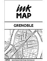 Inkmap Grenoble - Karten für eReader, Sehenswürdigkeiten, Kultur, Ausgehen (German) (German Edition)