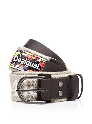 Desigual Cinturón Label (Gris)