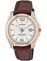 Citizen Eco-Drive Analog White Dial Men's Watch BL1243-00A