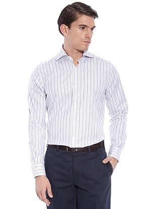 Hackett Camicia Righe (Bianco/Multicolore)