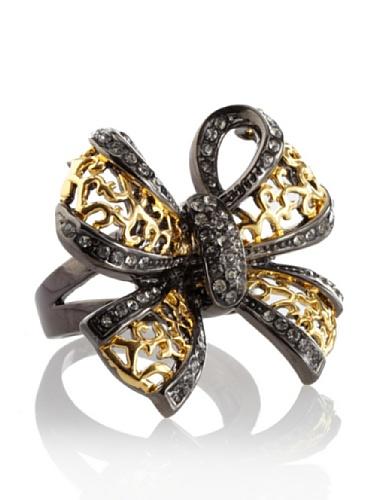Courtney Kaye Fauna Filigree Bow Ring