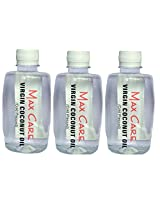 Maxcare Virgin Coconut Oil (Cold Pressed) 750ML (Pack of 3 - 250ML each)