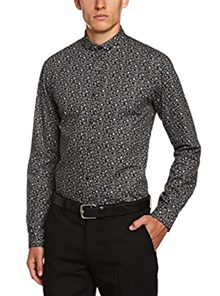 Selected Homme Americana Hombre Putnam (Gris Oscuro)
