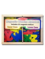 Alphabet Wooden 52 Magnets-in-a-Box Gift Set
