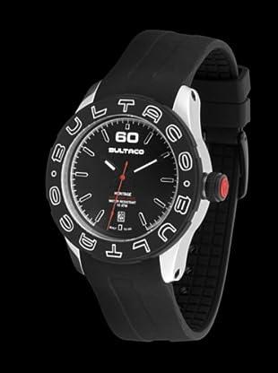 Bultaco H1AL43S-CB1 - Reloj Acero Standard correa silicona negro