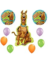Scooby Doo Birthday Party Balloons Decorations Supplies 9 Pc Kit