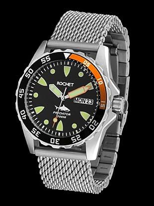 Rochet W504093 - Reloj de Caballero movimiento de cuarzo con brazalete metálico Metálico